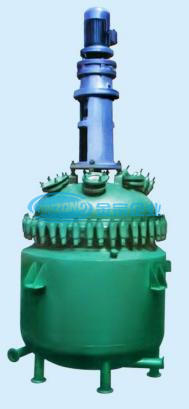 Glass Lined Reaction Vessel with Agitator Active Pharmaceutical Ingredients Reactor