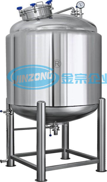 Stainless Steel 304 316L Insulated Vessels Jacketed Storage Tank