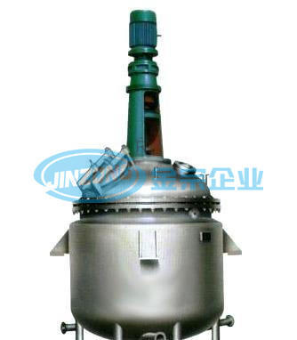 Stainless Steel 304 316L Reaction Tanks Reactor Capacity 50 to 40000 L