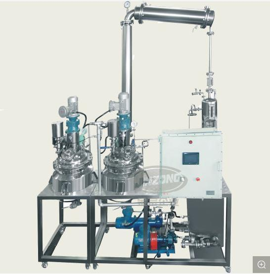 Customized Small Scale Pharmaceutical Reaction Manufacturing Processing Pilot Plant