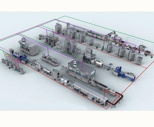 Beverages Lines From Concentrate to Juice Packaging Plant