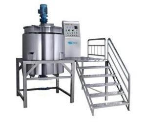 Stainless Steel Vessels Jacketed Mixing Kettle Tank