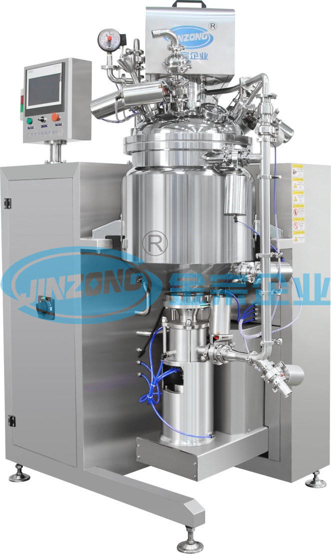 Electrical-Heating Steam Heating Vacuum Ointment Paste Cream Jacketed Mixing Machine