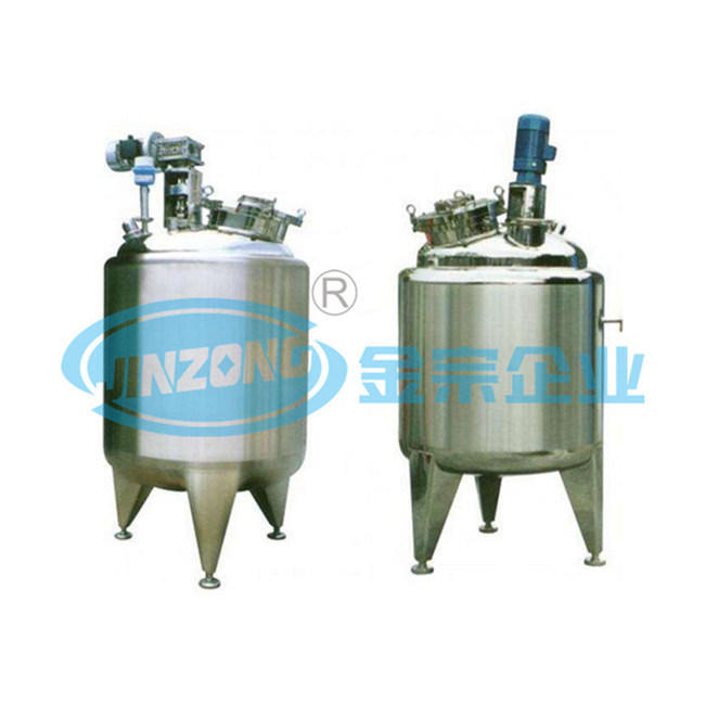 Bacterium Killing Pasteurization Tank Heating and Insulation Mixing Tank Pasteurizer