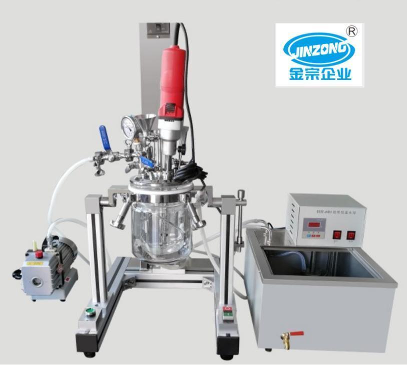 Multifunctional Lab Vacuum Emulsifying Mixer Cosmetic Gel Cream Making Machine