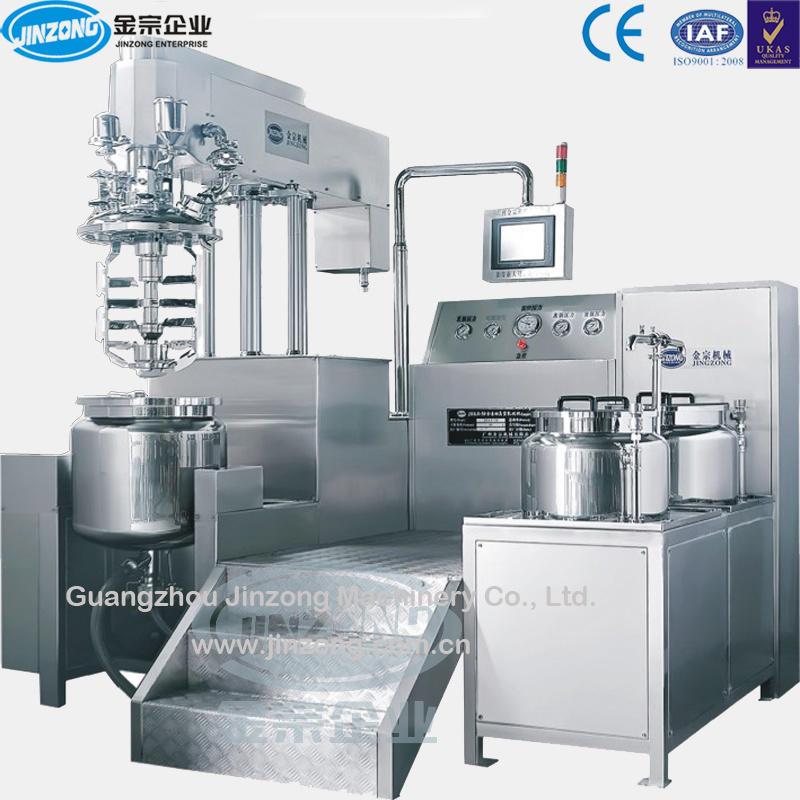Vacuum Mixer Emulsifier Cosmetic Cream/Lotion/Ointment Maker Gel Wax Paste Making Mixing Machine