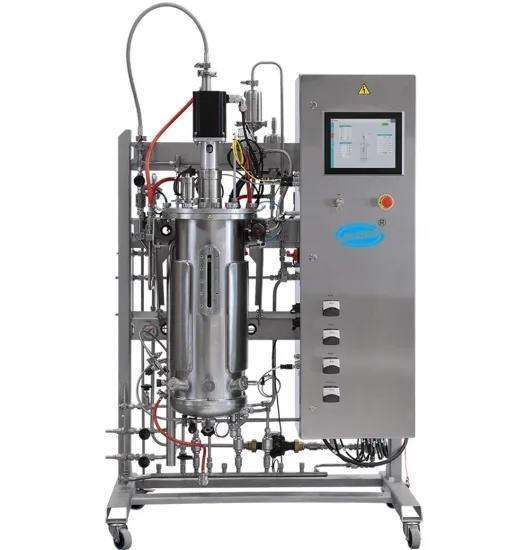 Bioreacter Fermentor Pilot Scale Fermentation for Enzyme Erythromycin Azithromycin Laboratory