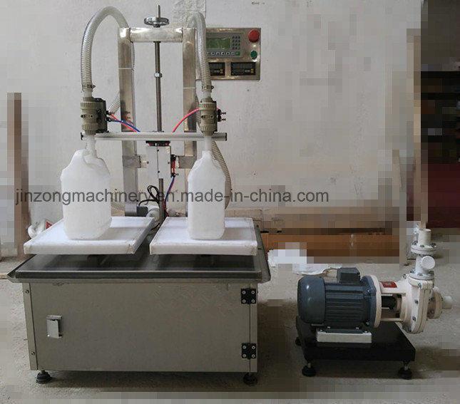 Automatic Anticorrosive Liquid Filling Machine with 2 Heads