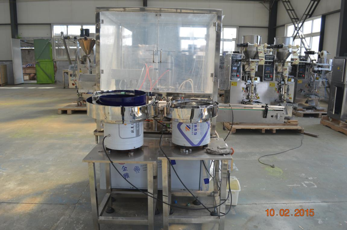 Cosmetic Deodorant Filling Capping Machine Roll Ball Bottles Filling Machine