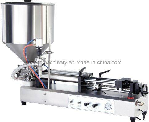 Semi Automatic Cosmetic Cream Paste Bottle Filling Machine