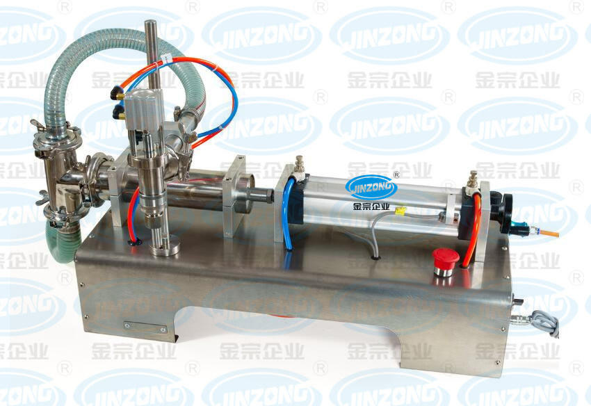 Semi-Automatic Small Bottle Filling Machine