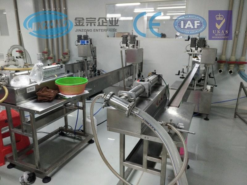 Small Production Capacity Semi-Automatic Filling and Capping Machine