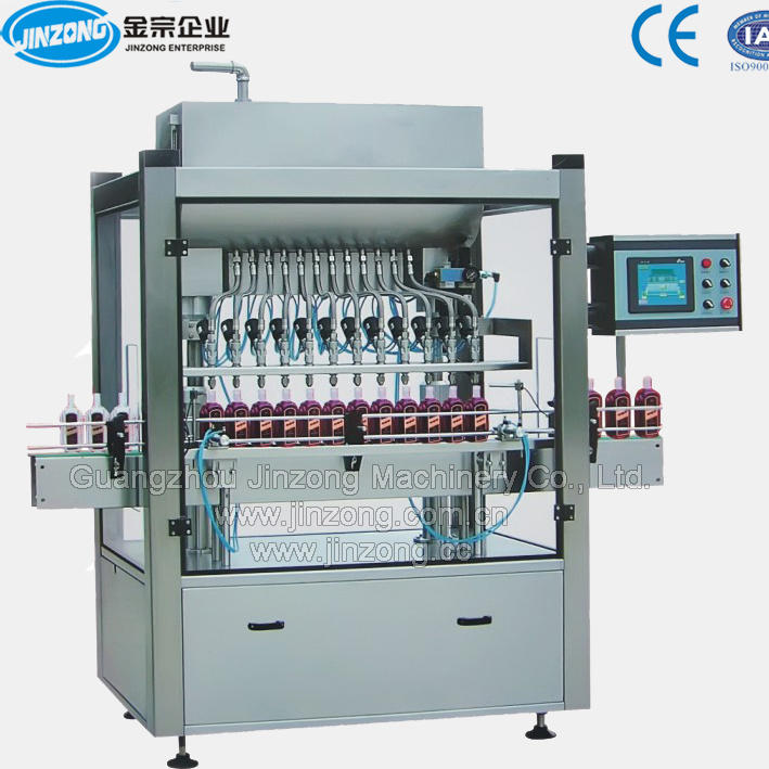 Automatic Liquid Detergent Filling Machine Shampoo Filling Machine