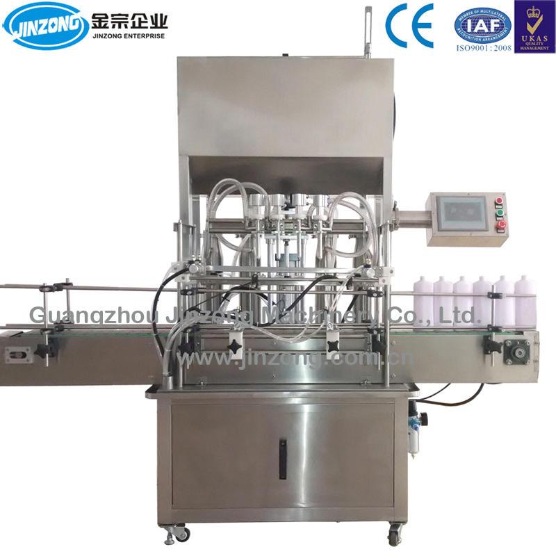 Jgz Series 6 Nozzles Cosmetic Filling Machine