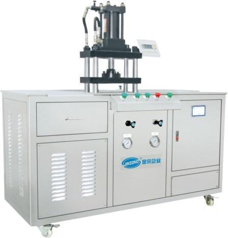 Cosmetic Puff Cake Powder Compacting Pressing Machine