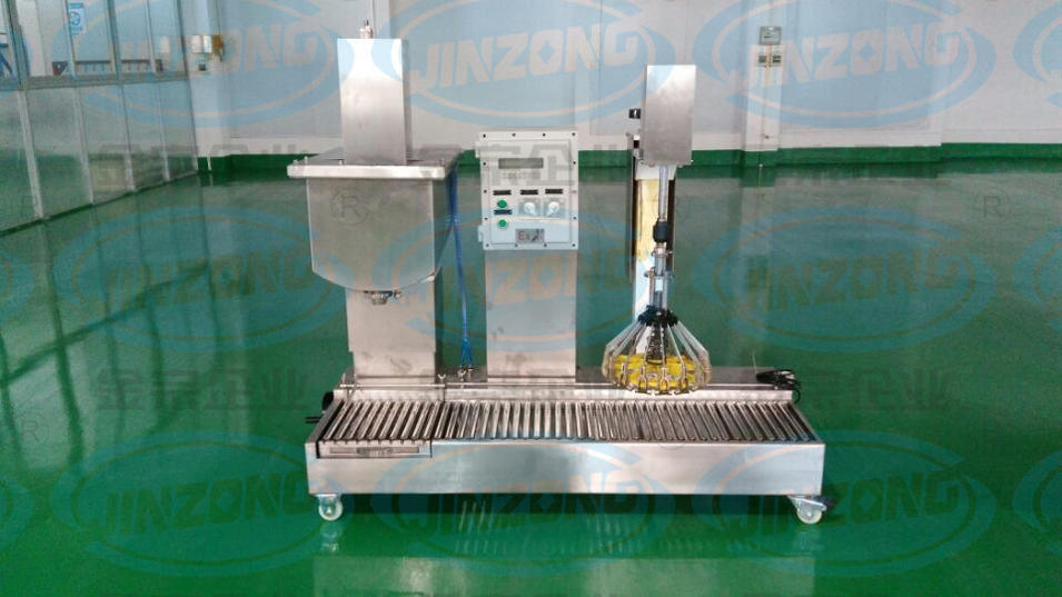 Automatic Gravity Filling Machine with Capping