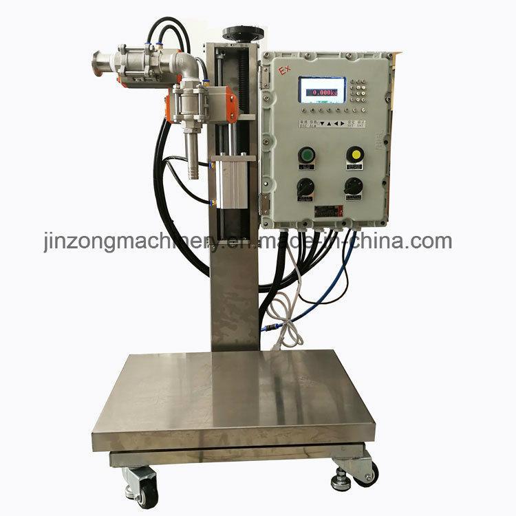 8~30kg Liquid Paint/Coating Semi-Automatic Filling Machine