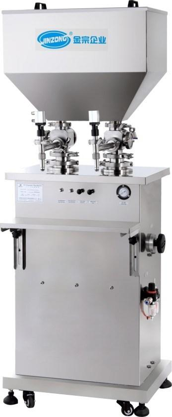 Semi Automatic Vertical Cream and Ointment and Liquid Filling Machine