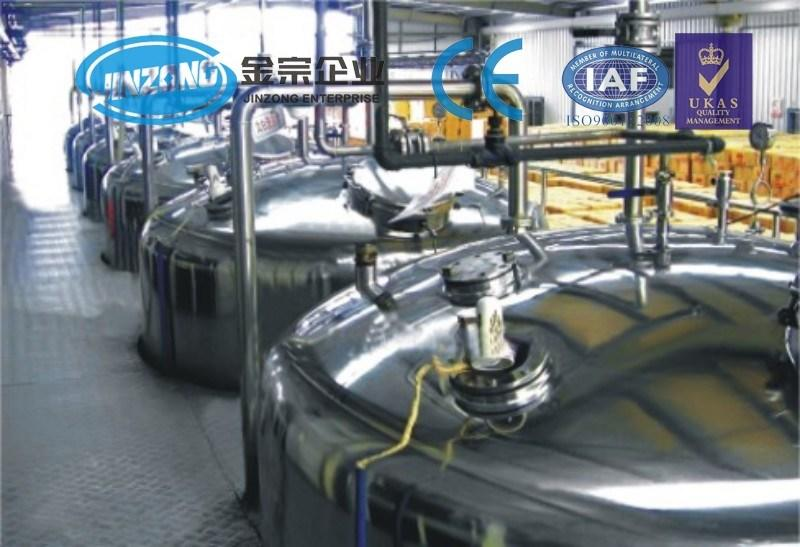 Jinzong Machinery Shampoo Lotion Storage Tank