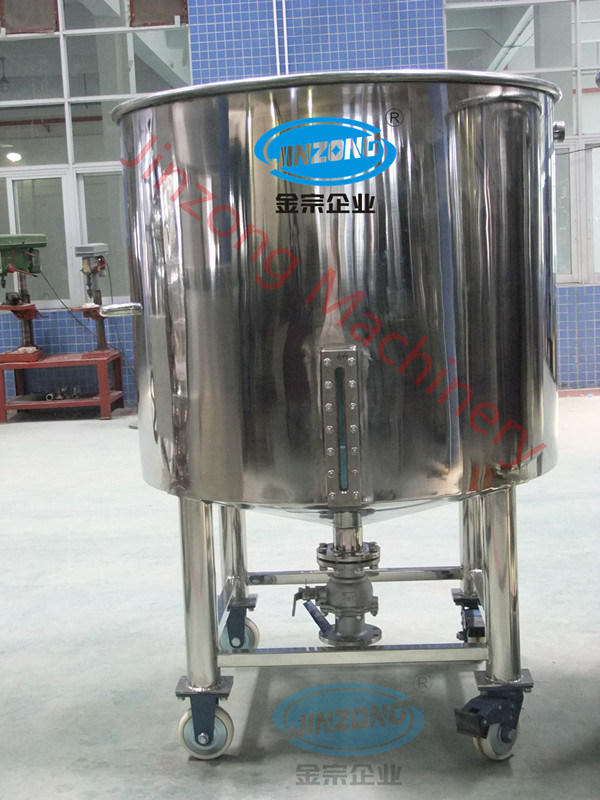 China Gold Supplier Moving Stainless Steel Open Storage Tanks