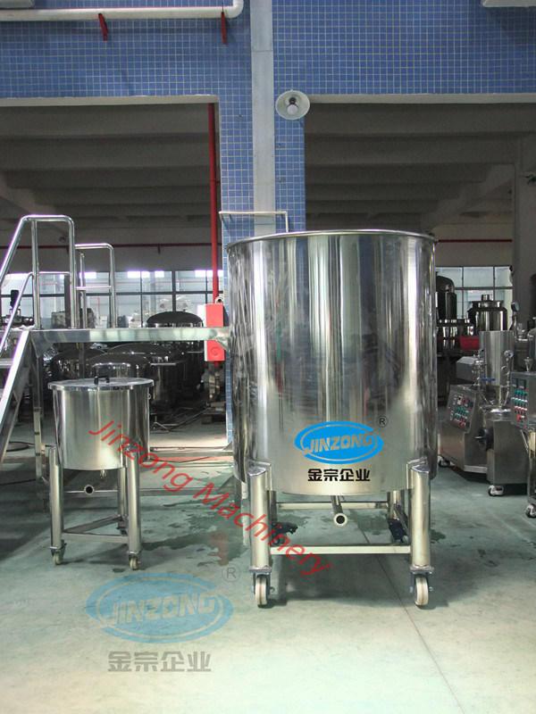 SUS304 Stainless Steel Liquid Storage Tank with Mirror Polishing