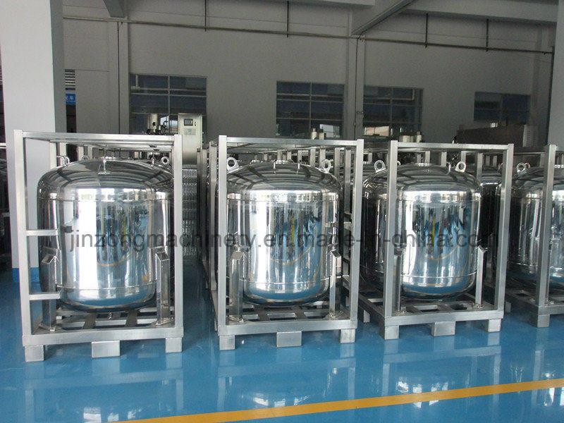 Storage Tank for Electrolyte of Li-ion Batteries