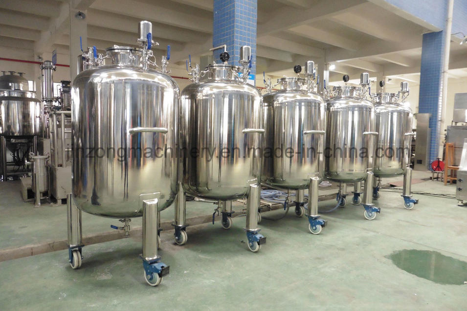 Stainless Steel Sterile Storage Tank for Sale