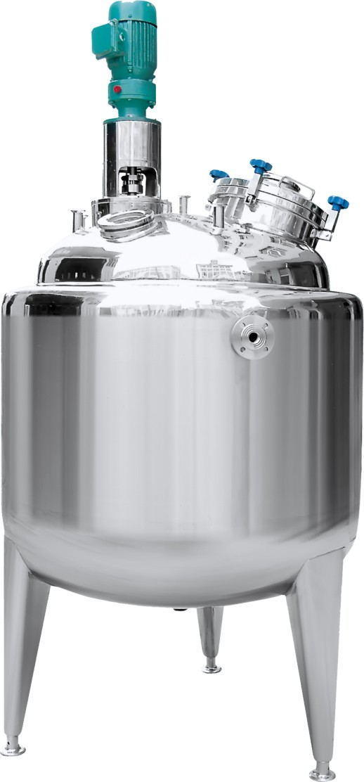 100L 200L 300L 500L 1000L Stainless Steel Industrial Jacketed Mixing Tank