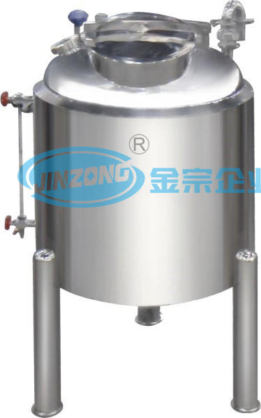 Double Layer Ss 304 316L Storage Tank with Mixer