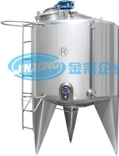 Vertical Type Vacuum Sterile Storage Tank Supplier