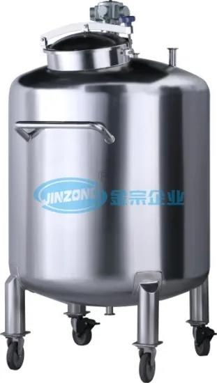 Syrup Mixing Storage Tank Mixer Manufacturing Plant Liquid Equipment