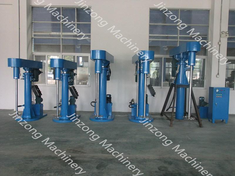 High Speed Paint Mixer Disperser Paint Making Equipment