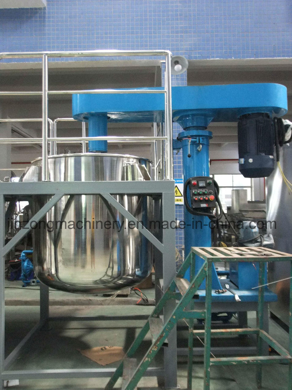 High Speed Elevating Paint Dispersion Mixer with Ce