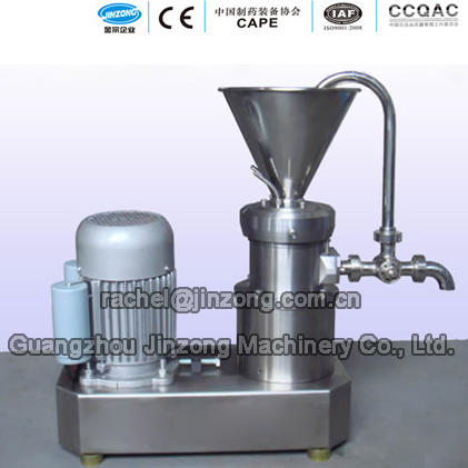 Jinzong Machinery Cosmetics Color Paste Mill Cosmetics Colloid Mill