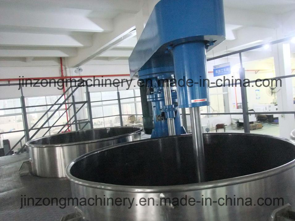 Guangzhou Jinzong Paint Dissolver Mixing Machine with Platform
