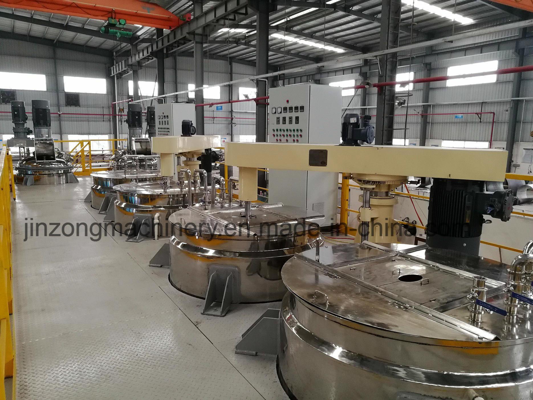 Platform Disperser Machine for Mass Production Paint