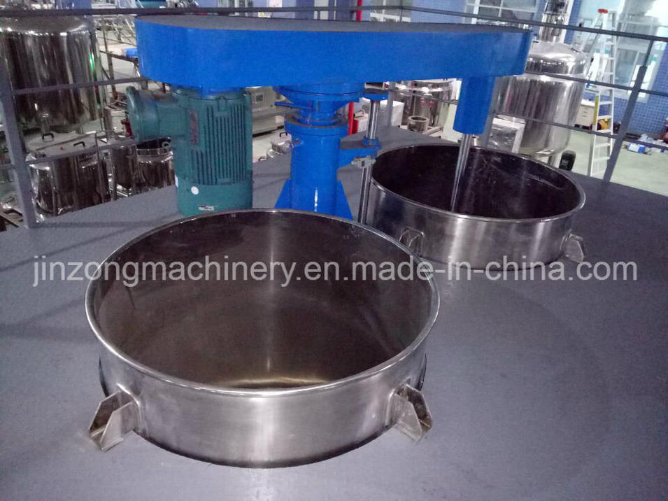 Chain Hydraulic Paint Mixer with Operation Platform