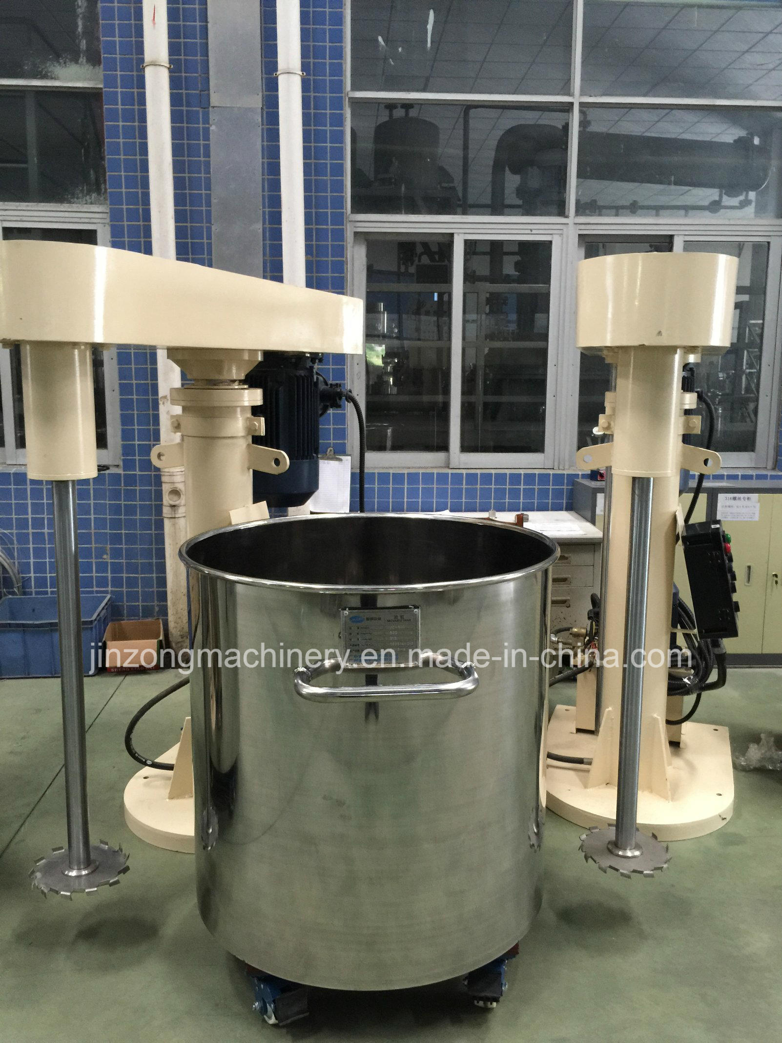 Hydraulic Lifting Paint Coating High-Speed Disperser Mixer Making Equipment Plant