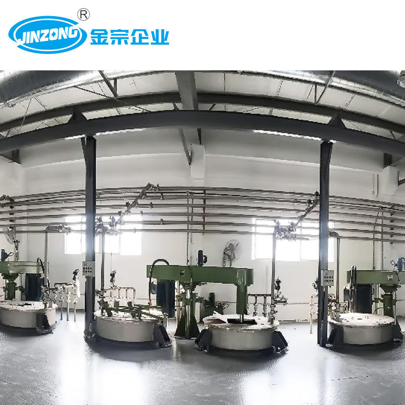 Jinzong 5000 Ton Annual Output Emulsion Paint Production Plant