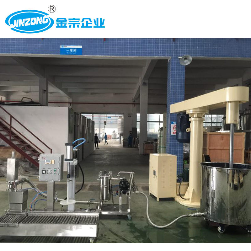 Jinzong 1000 Ton Annual Output Emulsion Paint Production Plant