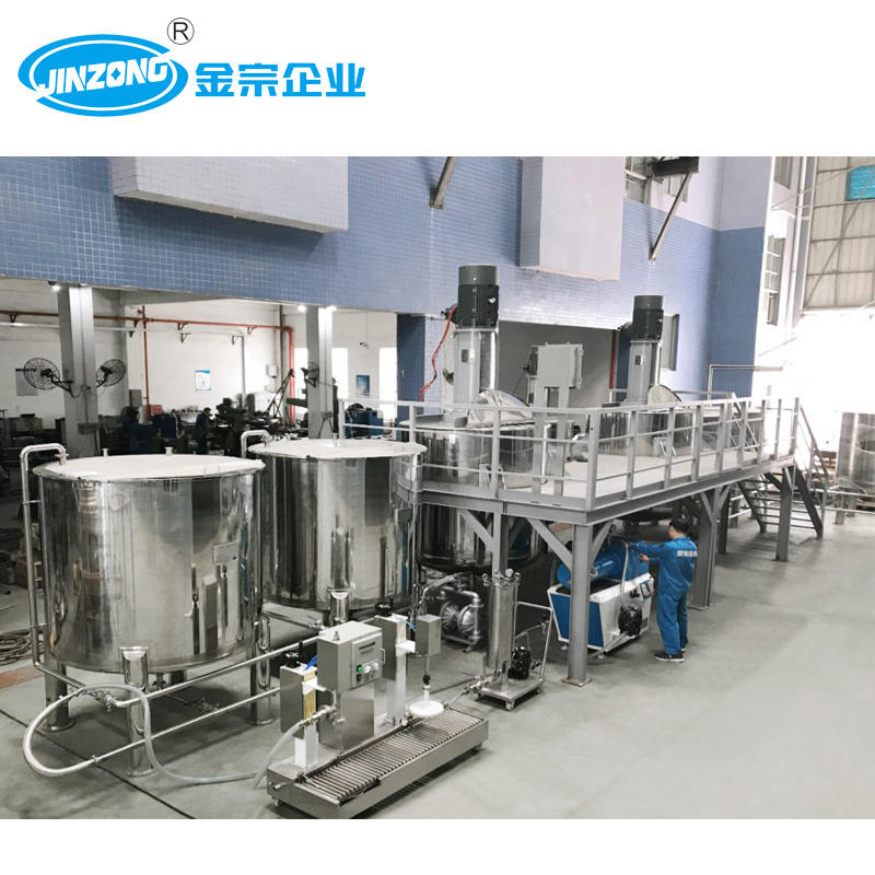 Full Automatic Wall Paint Emulsion Paint Production Plant