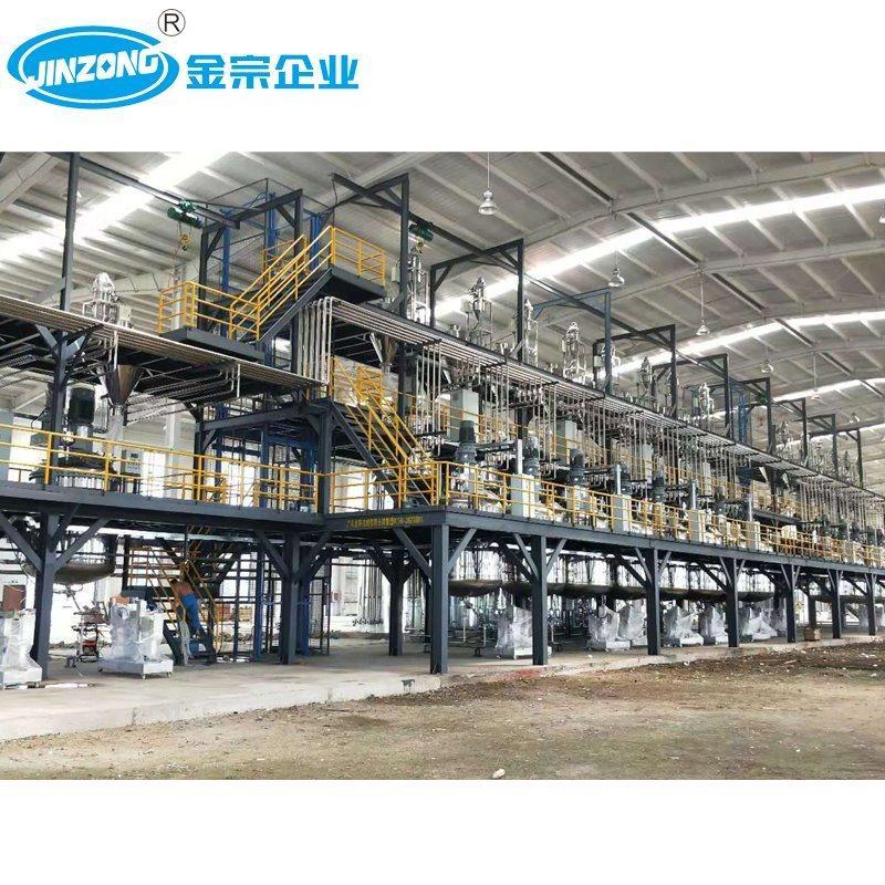 100000 Tons Annnal Output Automotive Paint Production Line
