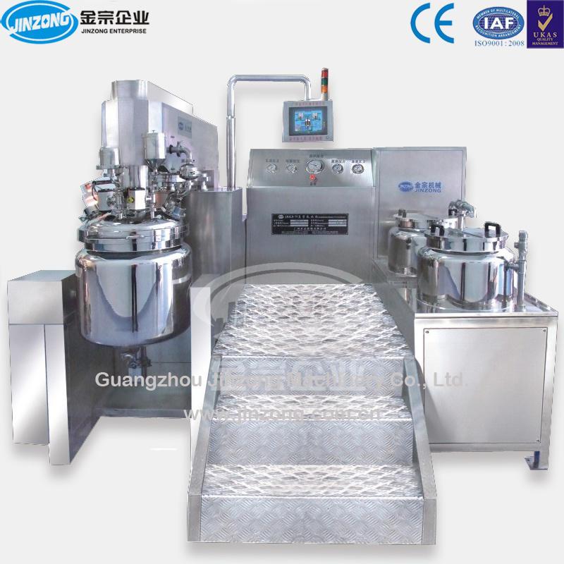 Cream Homogenizer, Cosmetic Cream Vacuum Emulsion Homogenizer Mixer