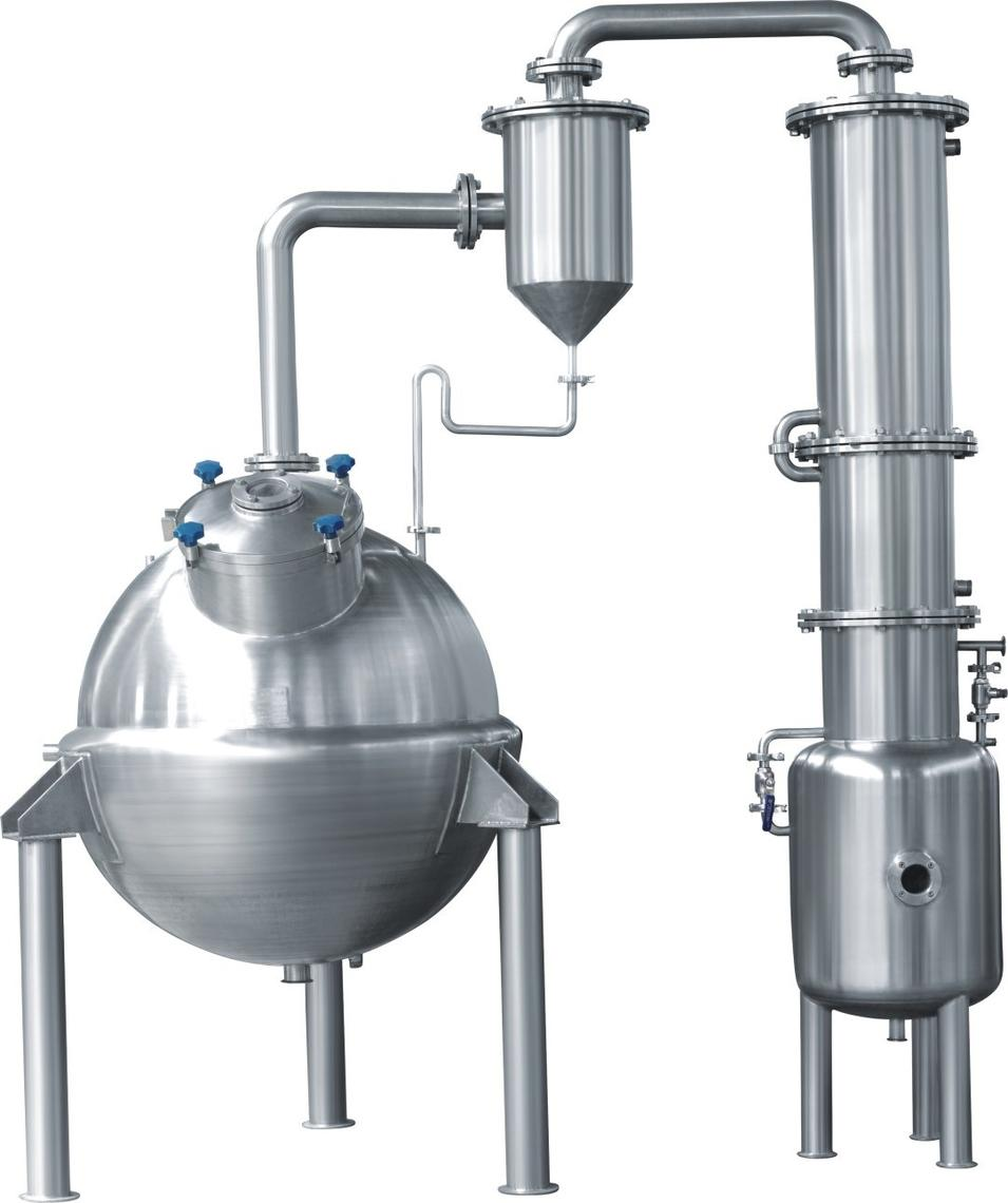 Qn Type Spherical Evaporation Concentrator for Pharma and Food Processing