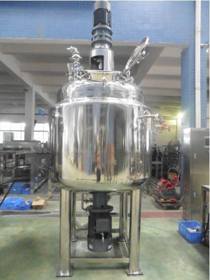 Nwx Internal and External Circulation Homogenizer Vacuum Mixing Machine