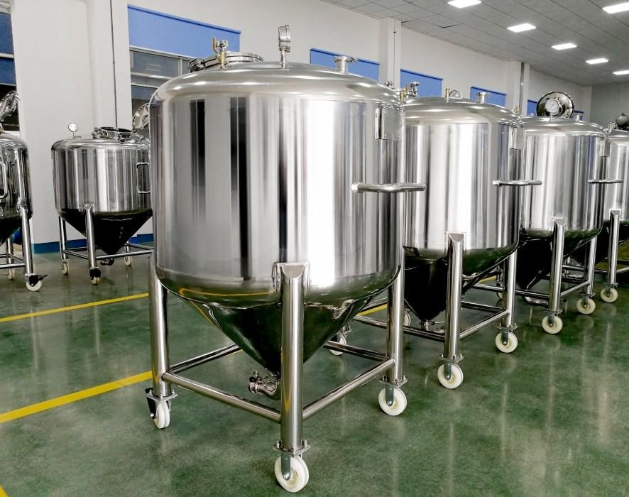 Customized Stainless Steel Sanitary Storage Tank for Pharmaceutical and Food Production