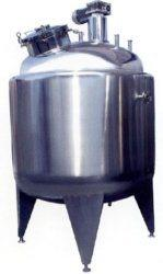 Stainless Steel Jacketed Heating & Cooling Tank