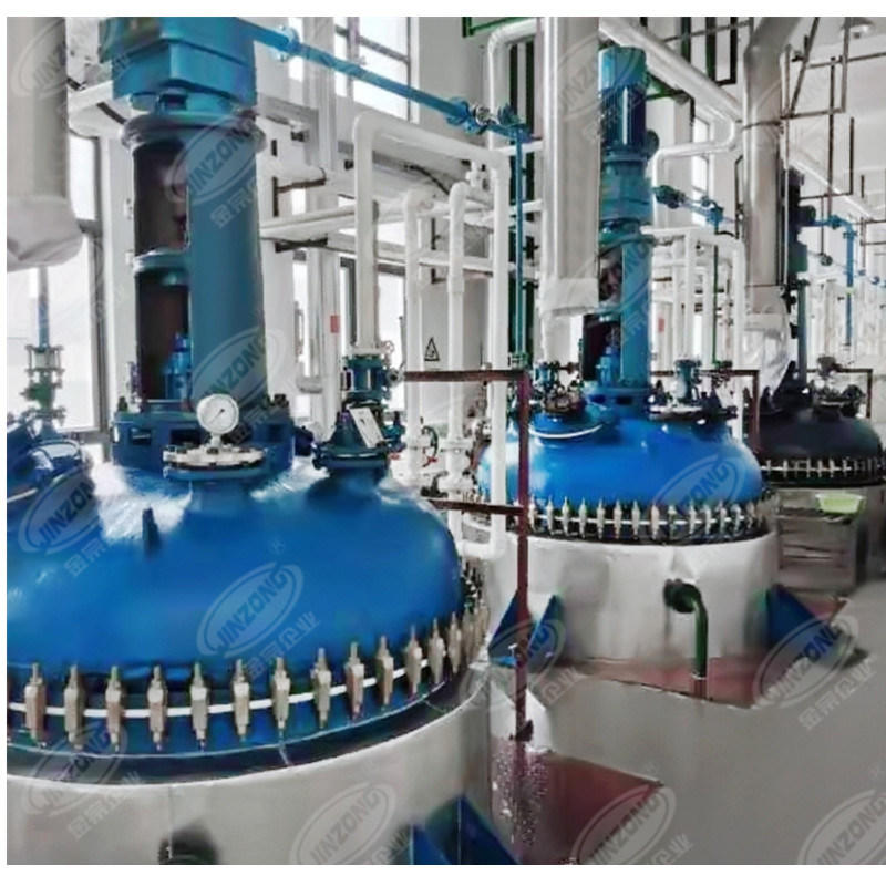 Pharmaceutical Glass Lined Hydrolysis Synthesis Distillation Vessel Concentrator Reactor