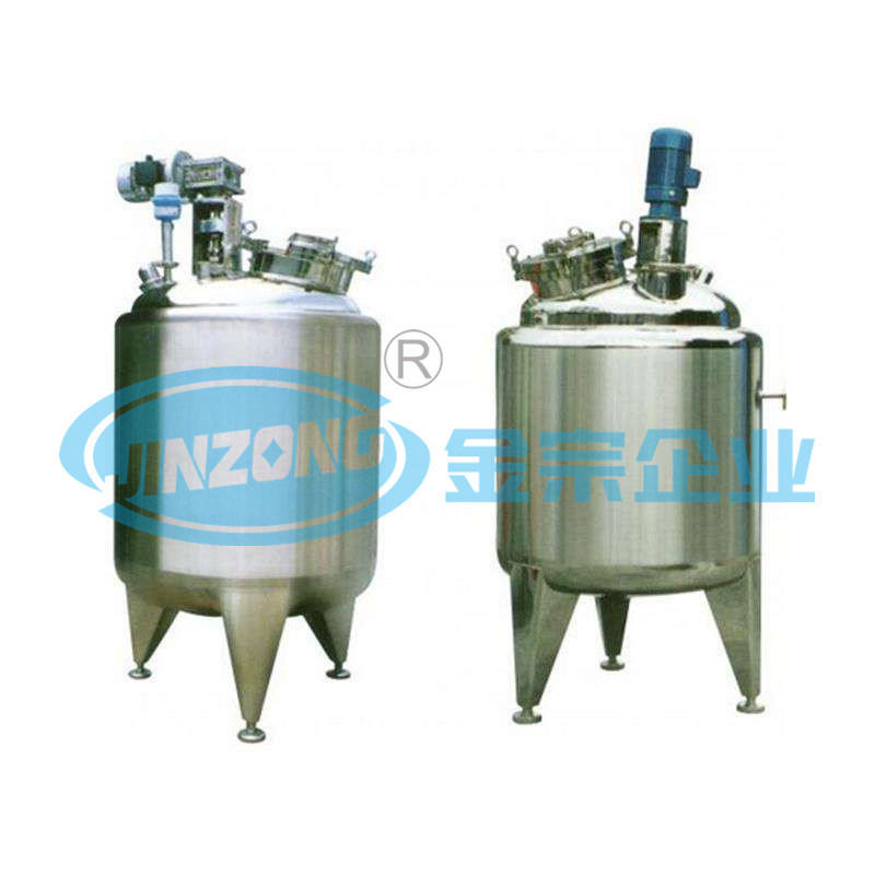 1000L Crystallizer Stainless Steel Crystallization Jacketed Mixing Tank Price