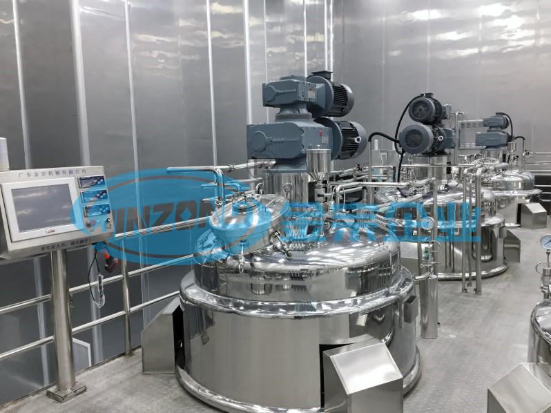 Syrup Manufacturing Plant Liquid Mixing Storage Tank Mixer